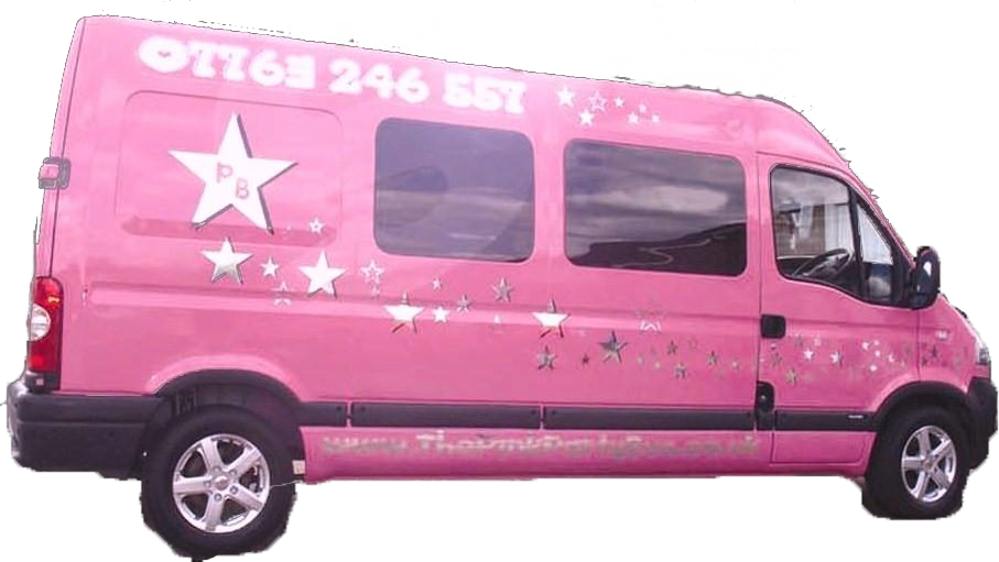 Glammylicious Pink Party Bus